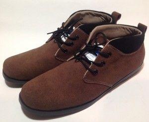 Sepatu Neck Suede warna coklat ini sangat cocok sekali untuk bergaul, jalan di mal dengan setelan celana cino warna coklat, SMS : 08811671286 BB : 30DB8839