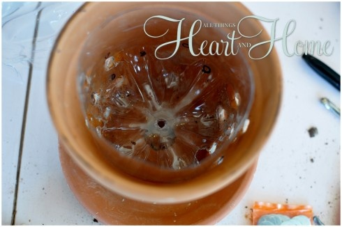DIY Bird Feeder From A Flower Pot! » All Things Heart and Home