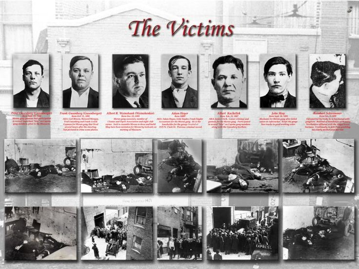 """saint valentine s day massacre Five years after the st valentine's day massacre, america's law enforcement landscape had transformed capone was in prison, congress had targeted the tommy gun, and the """"g-men"""" of the fbi were fighting crime scientifically."""