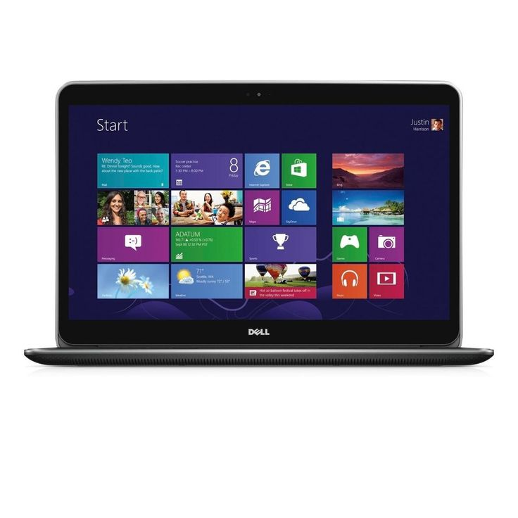 DELL XPS 15 9530-2699 Touch Notebook i7-4712HQ SSD QHD+ GT750M Windows 8.1