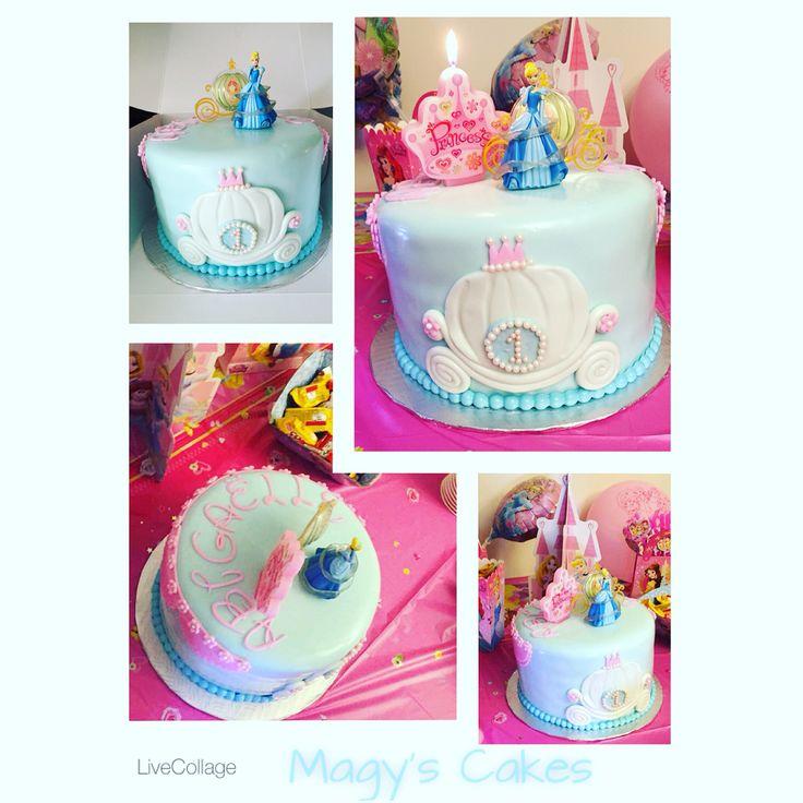Cinderella Coah Cake