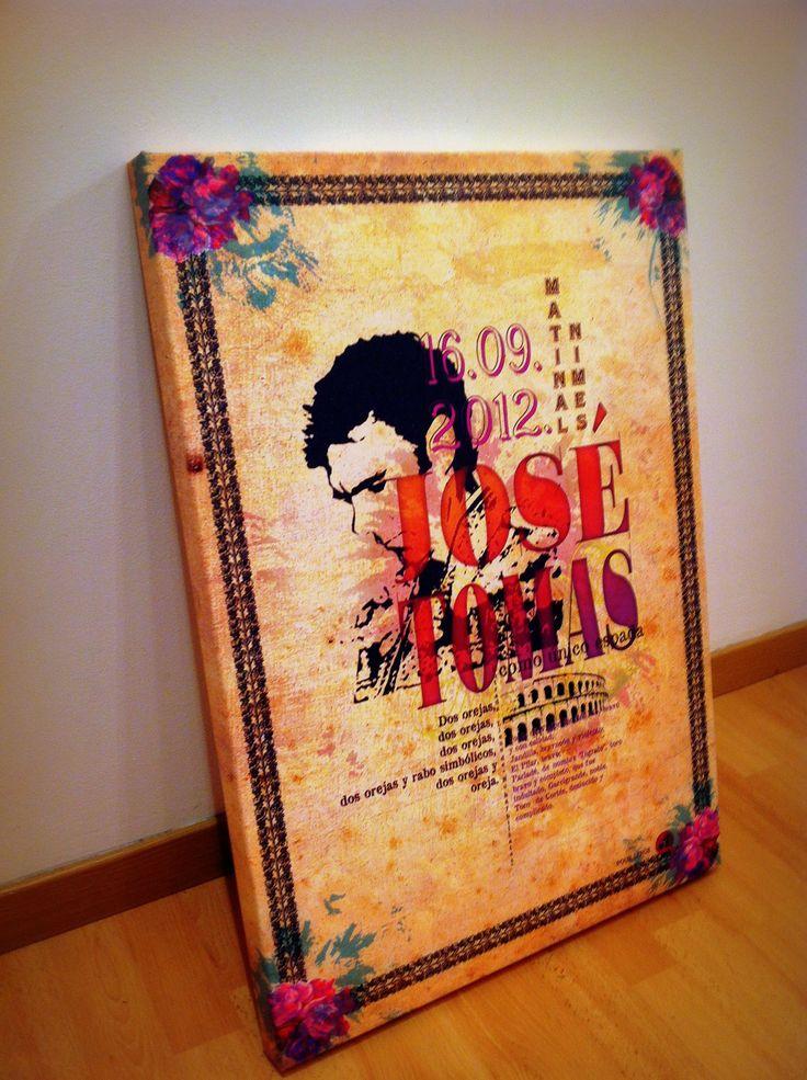 josé-tomas-affiche_nimes-monumental-toile-peinture-vendanges