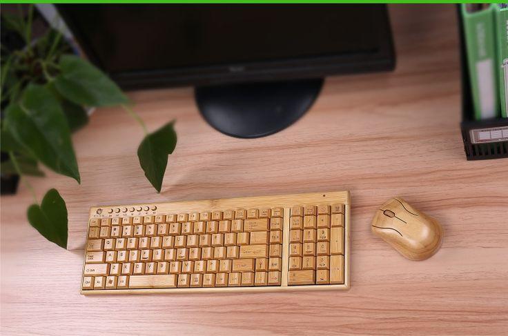 Ordinateur portable clavier souris clavier sans fil costumes bambou costume USB sans fil clavier ou costume dans de sur AliExpress.com | Alibaba Group