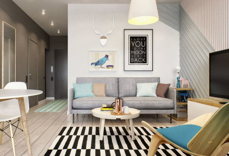 This 430 ft² Russian apartment proves that great style doesn't always come in big packages | NEW Decorating Ideas