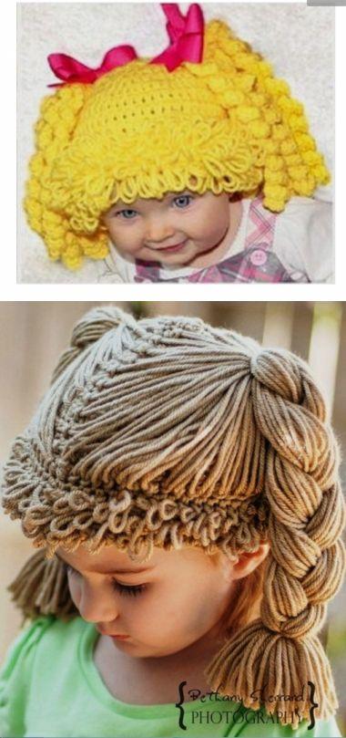 Необычные детские шапочки