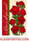 Love is all you Need Garden Flag