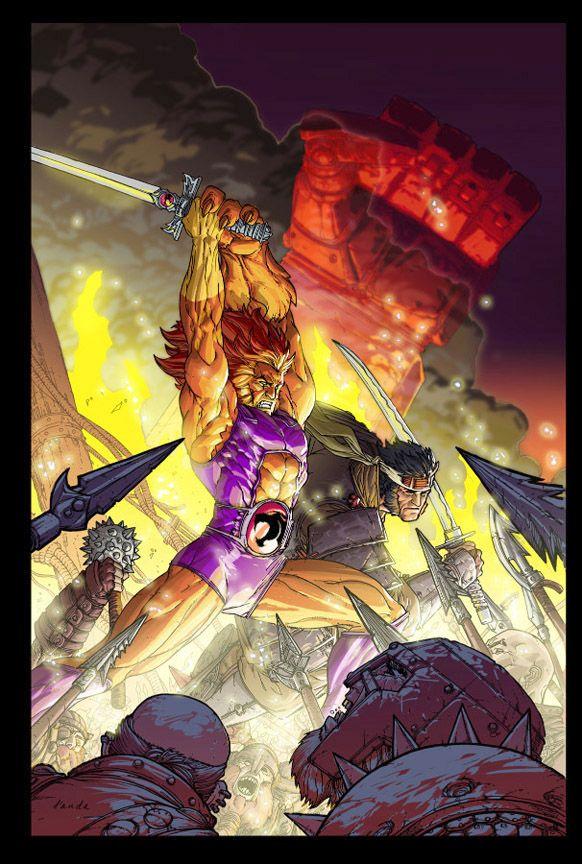 ThunderCats cover by Chuckdee.deviantart.com