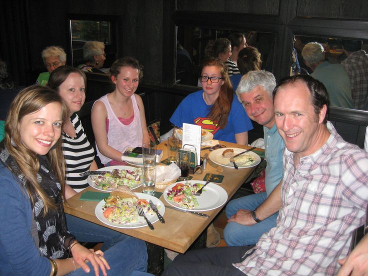 German dinner near Alexanderplatz