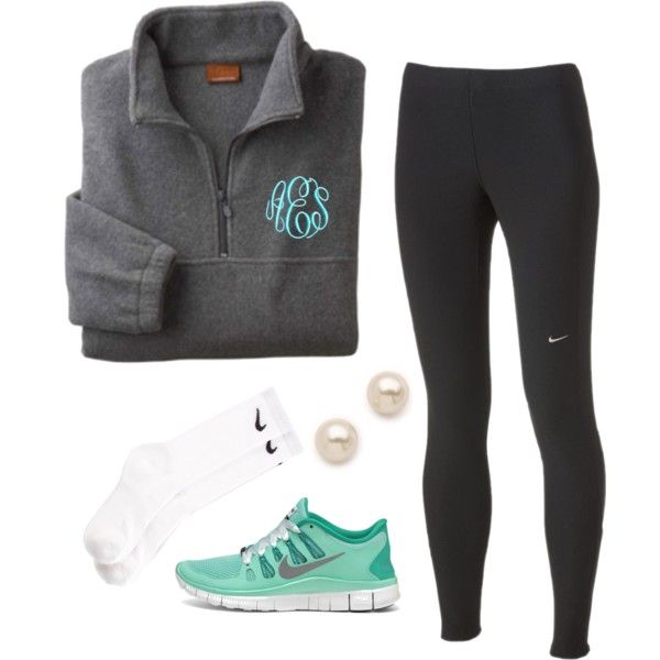 A fashion look from December 2013 featuring NIKE activewear pants, NIKE socks and NIKE athletic shoes. Browse and shop related looks.