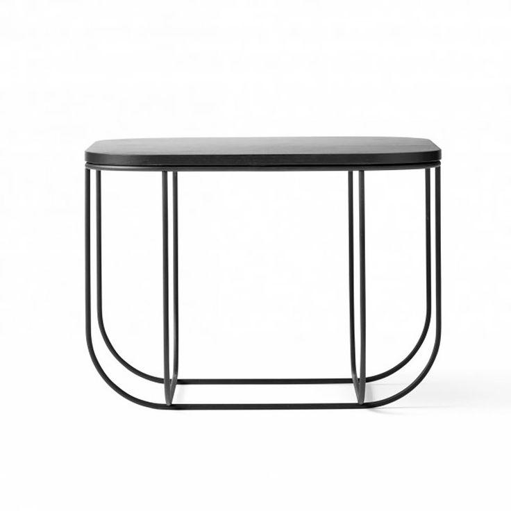 top3 by design - Menu - FUWL cage table blk dk ash