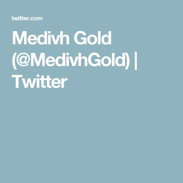 Medivh Gold (@MedivhGold) | Twitter