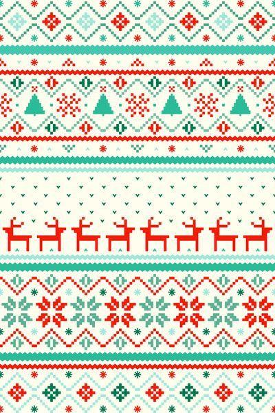 Sweater Pattern Wallpaper
