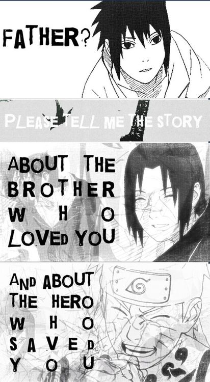 Père? Sil vous plaît raconter-moi l'histoire sur le frère qui vous aime et sur le héros qui vous a sauvé .