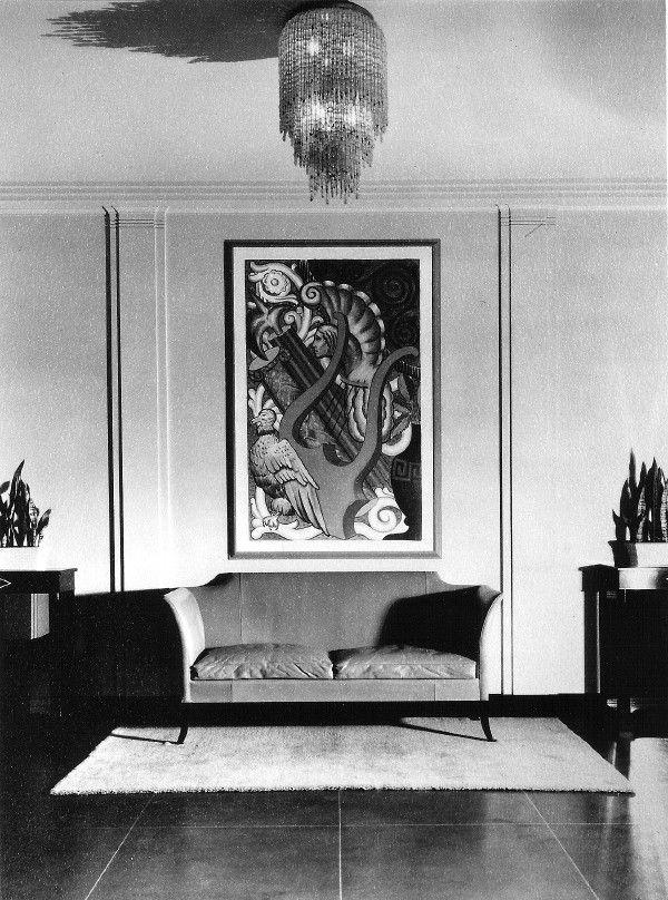 Art Deco interiors photographed Ken Hedrich exhibit