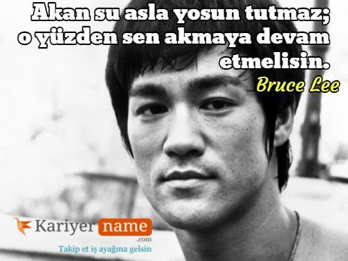 Kariyerinde başarıyı yakalamak için www.kariyername.com 'a gelmelisin... #kariyer #brucelee
