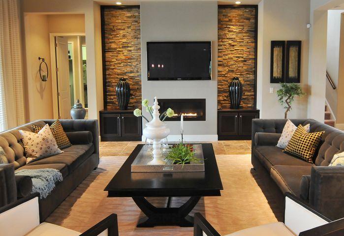 Modern Gathering Area - Contemporary - Living room - Photos by Masterpiece Interiors, Inc.   Wayfair