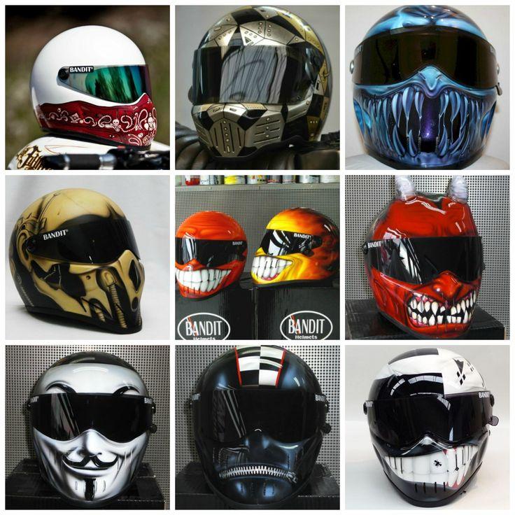 Bandit XXR Helmet Collage