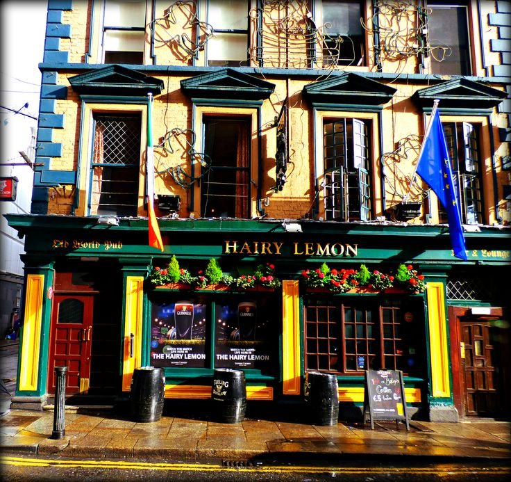 Hairy Lemon - Dublin - Jon Lander ©2016 - We had a really good traditional Irish dinner here, and because it was crowded, shared a table with a nice couple from Germany - had a very nice conversation. Travel is priceless.
