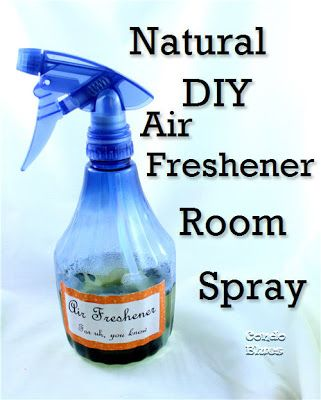 How to make room air freshener spray