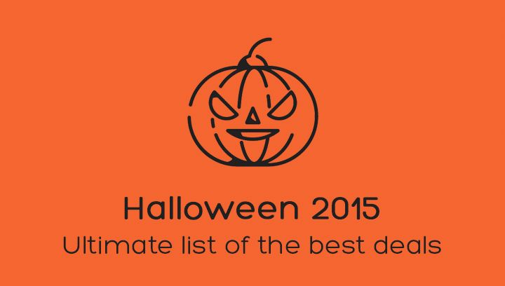 We have prepared the ultimate list of most incredible #Halloween 2015 #deals! #Wordpress #Joomla #themes #templates