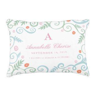 Classic Elegance Baby Birth Information Pillow