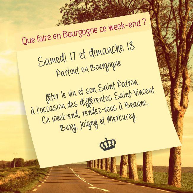 Ce week-end en #Bourgogne on fête le #vin !