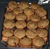 Receta casera de muffins de salvado de trigo