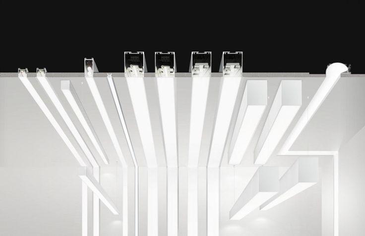 Montage der unterschiedlichen einbaubaren LED Leisten