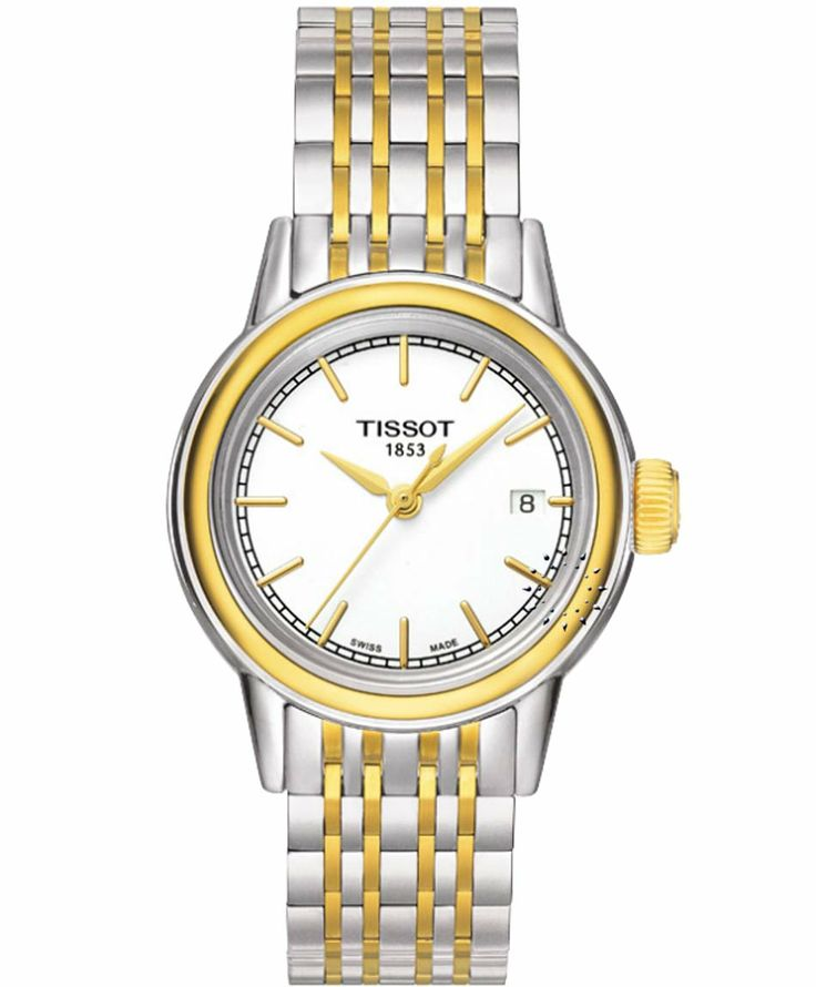 Tissot Carson Ladies Two-Tone Stainless Steel Bracelet Η τιμή μας: 283€ http://www.oroloi.gr/product_info.php?products_id=34586