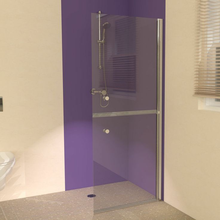 UniClosure 900 Split Glass Hinged Wet Room Shower Screen. An exclusive range of split glass hinged wet room shower screens. 6mm toughened glass full height wet room shower screens which are designed for assisted showering and are also suitable for all of the family. These hinged glass panels provide full access in and out of the showering area and can fold back to the wall if required. We also offer hinged wet room twin split frameless shower enclosure options.