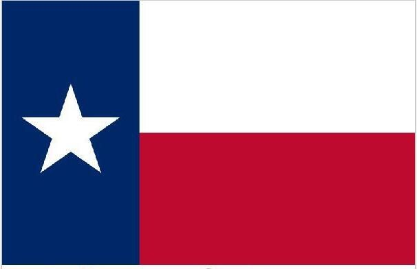 Flag of Texas 3ft x 5ft Polyester Texas State Flag Flying Size No.4 150* 90cm  United State American Banner