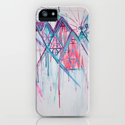eye2eye iPhone & iPod Case by muskawo - $35.00