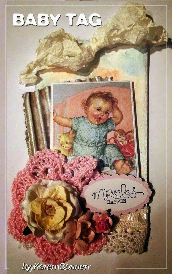 Bessie Gutmann Baby Tags