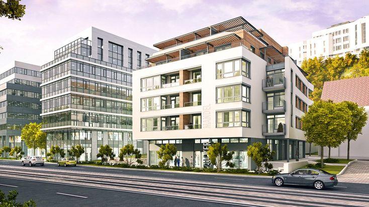 Zuckermandel mixed-use development Residential block Cb