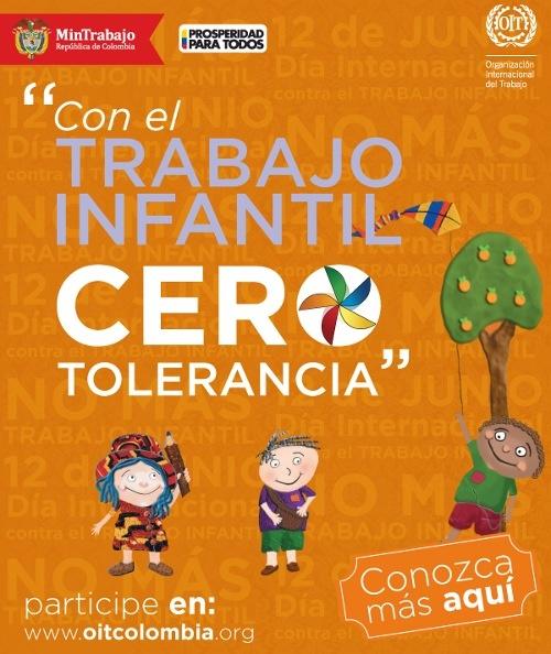 Colombia reafirmó su compromiso de lucha contra el trabajo infantil, rechazó cualquier manifestación del mismo y en conjunto con la Organización Internacional del Trabajo, OIT, reveló las cifras de menores de edad que laboran en servicios domésticos.