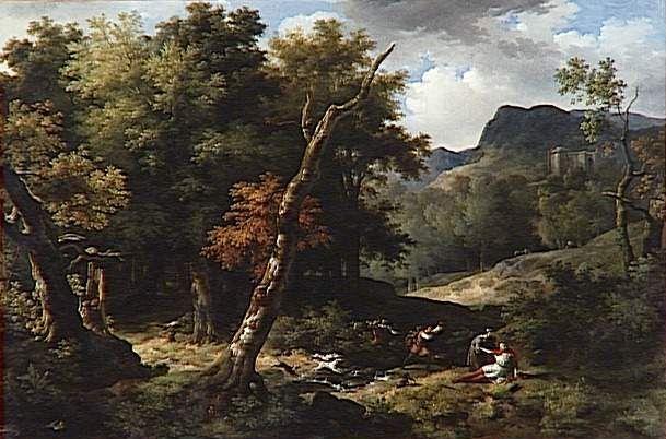 Jean Charles Joseph Remond (1795-1875) - Carloman blessé à mort dans la forêt d'Yveline - Carloman II — Wikipédia