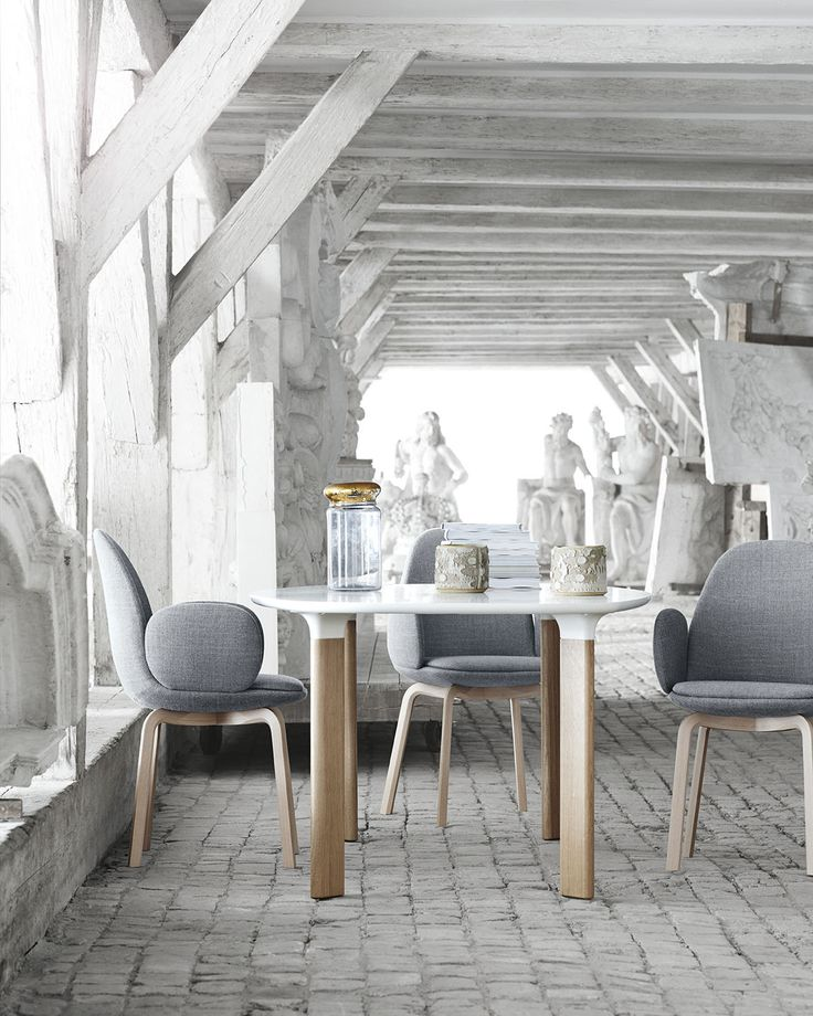Fritz Hansen - NEW CHAIR! Sammen™ - the chair is for a pleasant evening in the…