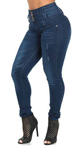 Levanta Cola Butt Lifting COlombian Style High Waisted Jeans-3 ModaXpressOnline http://www.amazon.com/dp/B016CG60UY/ref=cm_sw_r_pi_dp_.tBqwb0HZAMQZ