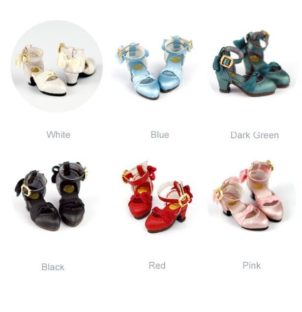 Dolls High Heel Shoes for Blythe 1//6 BJD Dolls Ball Joint Doll Accessories