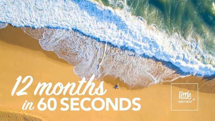 12 months in 60 seconds