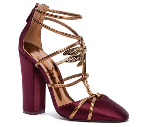 Yea or Nay: Tory Burch 'Dragonfly' Shoes | Tom & Lorenzo || I sort of wish the heel was a little more delicate, but very pretty otherwise.