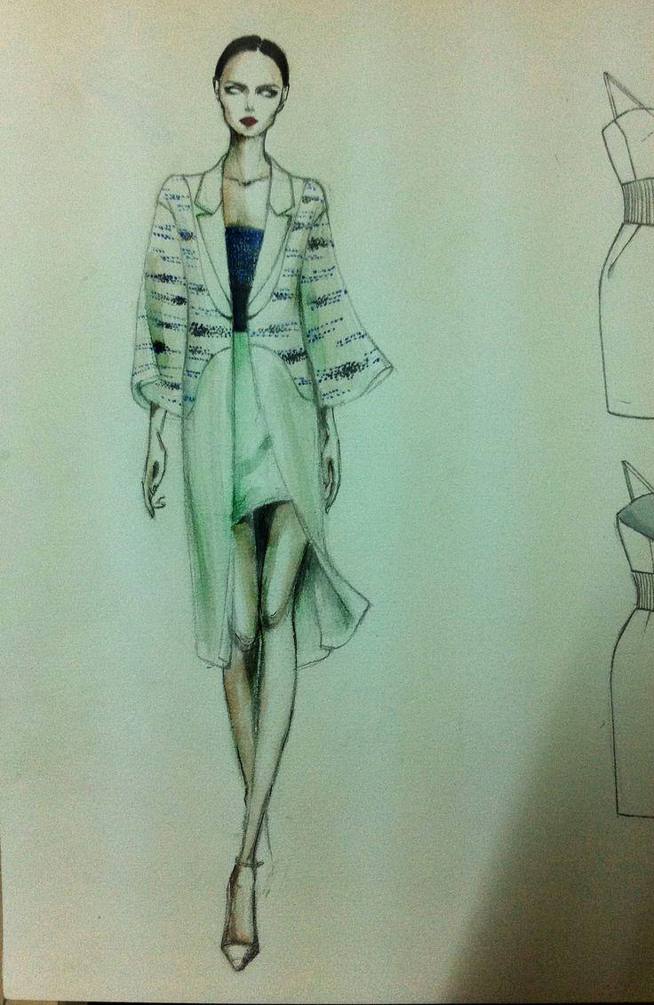 coat fashion tree bark