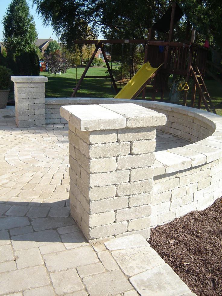 17 best images about hot tub patio on pinterest fire for Patio pillars