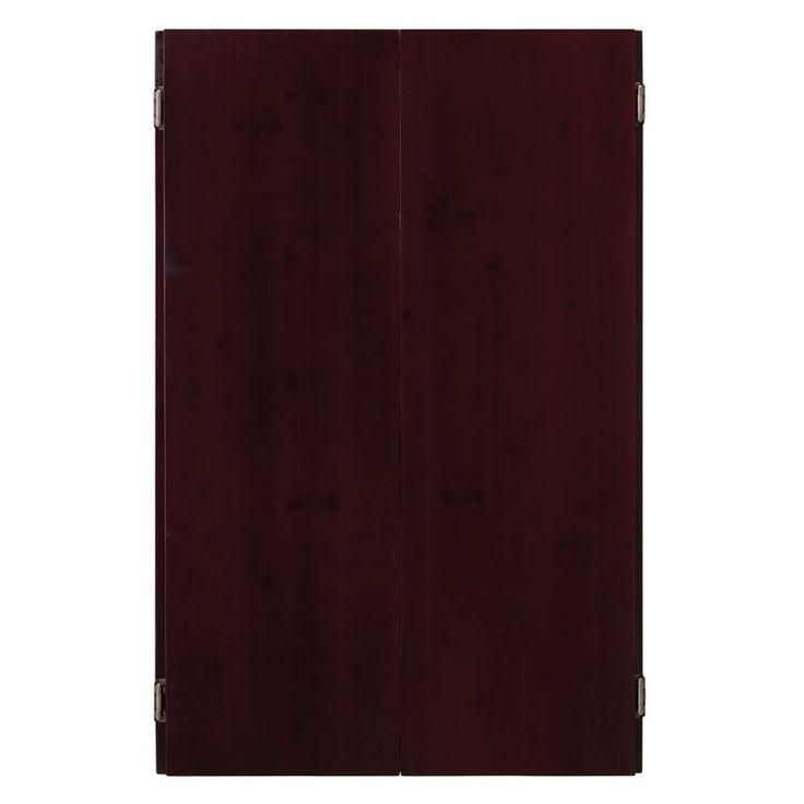 DMI Bandit Pro Staple Free Bristle Dart Board and Cabinet Set - GG437