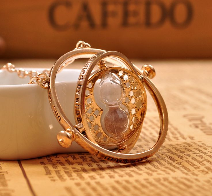 2016 Hot Selling Harry potter necklace time turner necklace hourglass Harry Potter Necklace Hermione Granger Rotating Spins -- Locate the offer simply by clicking the VISIT button