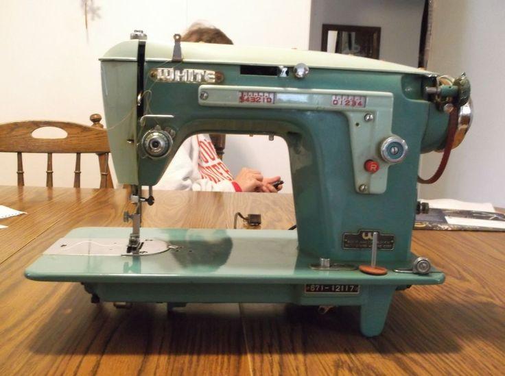 HEAVY DUTY VINTAGE DRESSMAKER MODEL 210B SEWING MACHINE