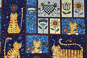 Ülke kediler, upraised kuyruklu kedi, yay ile kediler, kırmızı fiyonklar, kahverengi kedi, kahverengi çizgili kedi, gri kedi, mavi kedi kumaş kediler