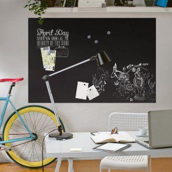 Magnetfolie - Blackboard selbstklebend - Arbeitszimmer, Magnettafel, Tafelfolie magnetisch, Wandtafel, Klebefolie, Dekofolie                                                                                                                                                                                 Mehr