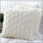 Almofadas para Aran Crochet