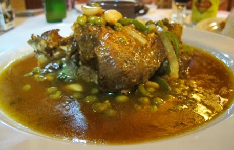 Lamb Shank from El Gringo Viejo   http://www.chowzter.com/fast-feasts/latin-america/Havana/review/El-Gringo-Viejo/Lamb-Shank/4641_4657